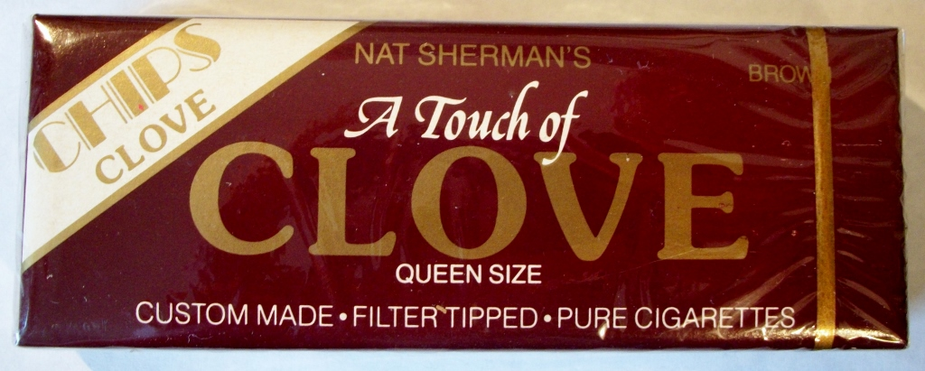 Nat Sherman's A Touch of Clove - Chips - Queen Size