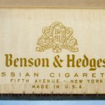 Benson & Hedges No. 3 Gold Russian Cigarettes 1948 100mm