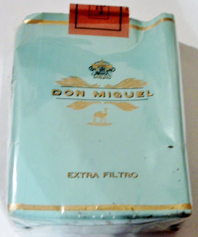 Don Miguel Extra Filtro - vintage Canary Islands, Spain Cigarette Pack
