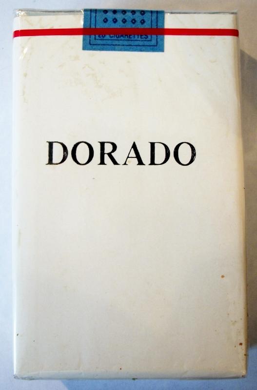 Dorado king size - vintage Trademark Cigarette Pack