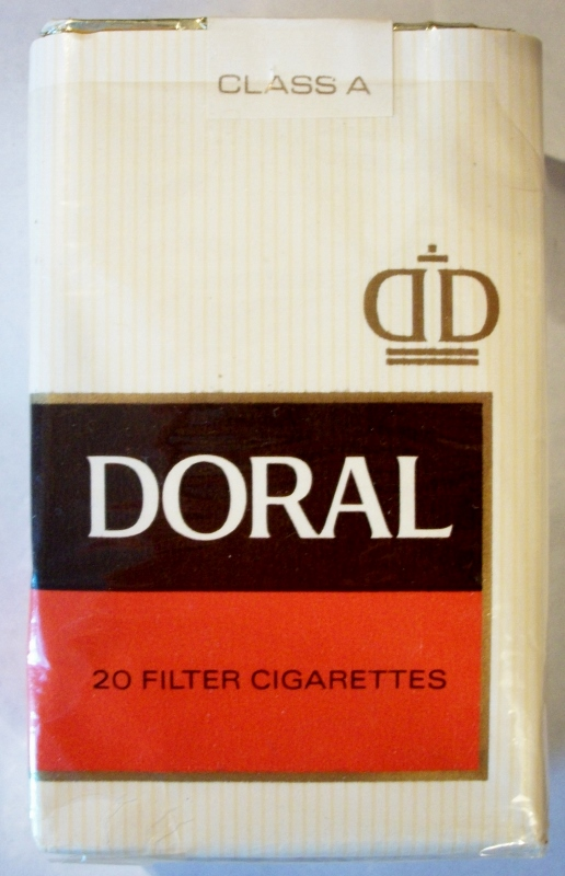 Doral Filter, King Size (1966-1970) - vintage American Cigarette Pack