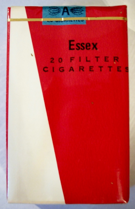 Essex filter, King Size - vintage Trademark Cigarette Pack