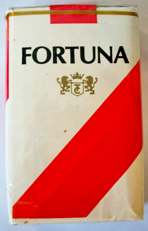 Fortuna Filtro, king size - vintage Costa Rican Cigarette Pack