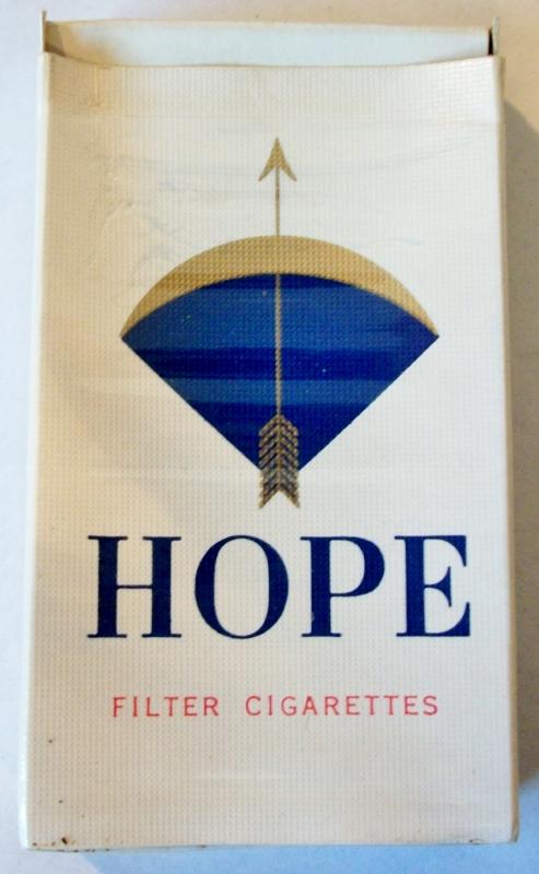 Hope Filter 70mm - vintage Japanese Cigarette Pack