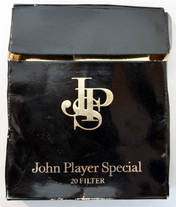 John Player Special 100mm - vintage Indonesian Cigarette Pack