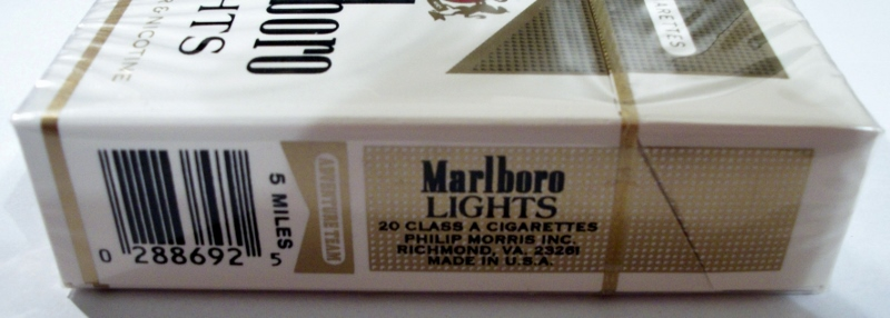 Japanese cigarettes Marlboro import