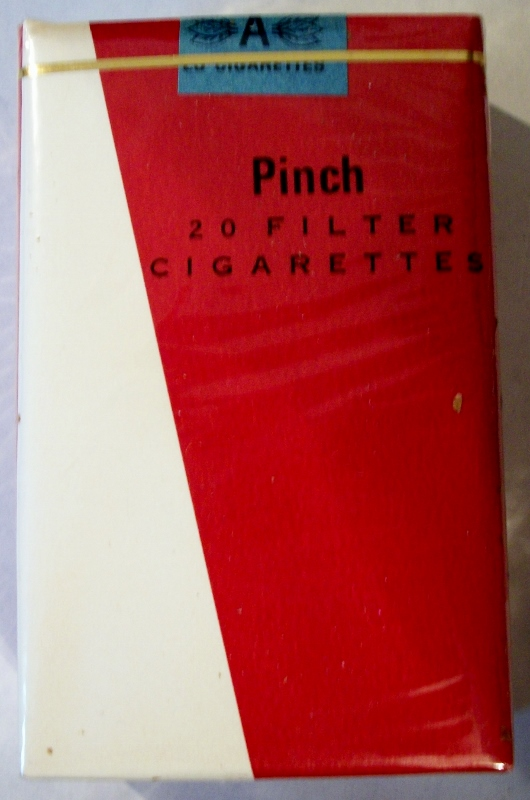 Pinch Filter, King Size - vintage Trademark Cigarette Pack
