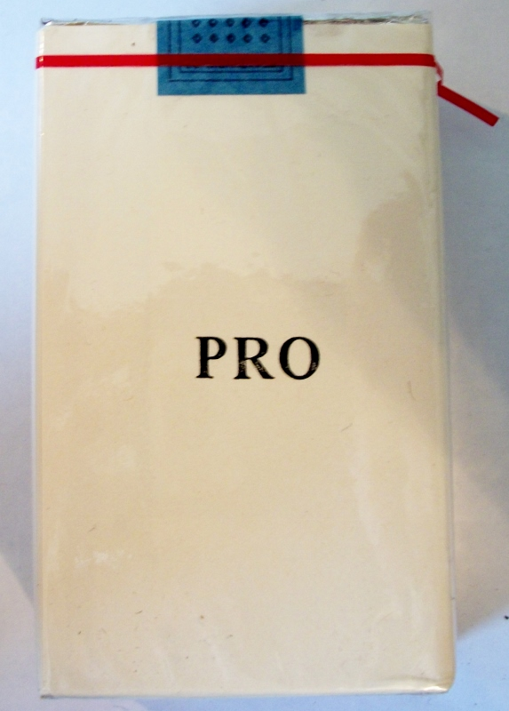 Pro Cigarettes, King Size - vintage Trademark Cigarette Pack