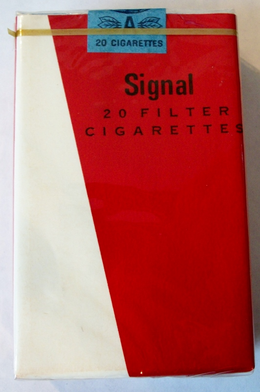 Signal, Filter King Size - vintage Trademark Cigarette Pack