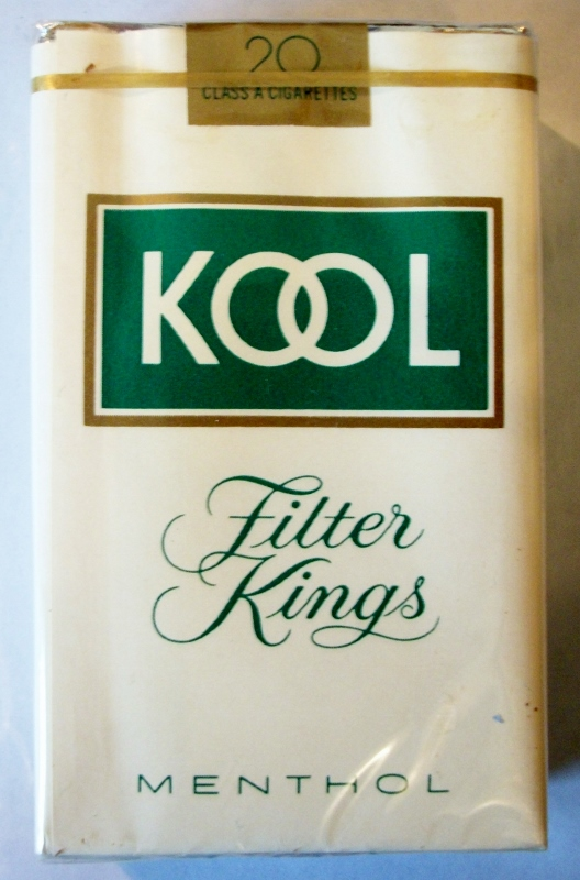 Kool Filter Kings Menthol - vintage American Cigarette Pack