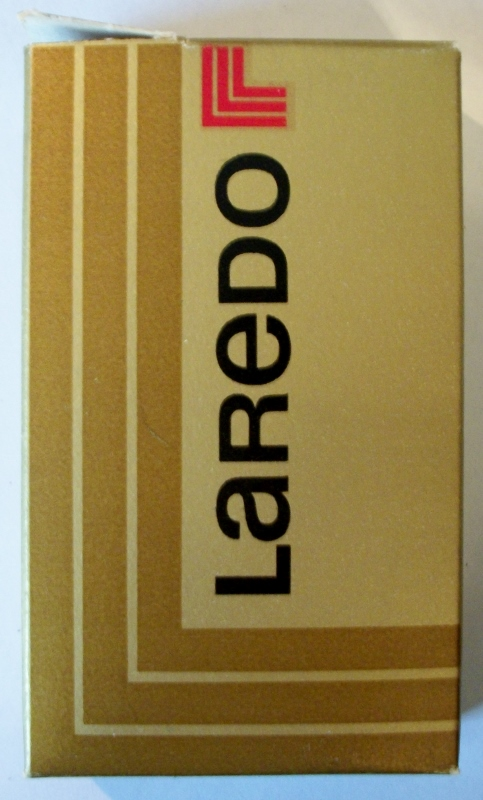 Laredo, king size box - vintage Cigarette Pack