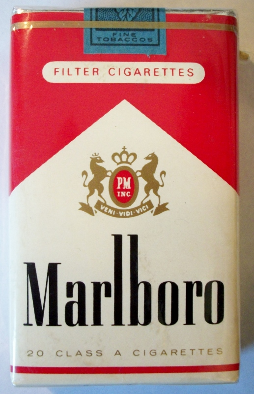 Marlboro Filter King Size - vintage American Cigarette Pack