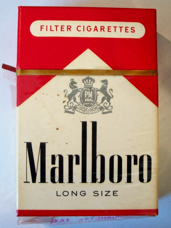 Marlboro Filter 1955 Long Size - vintage American Cigarette Pack