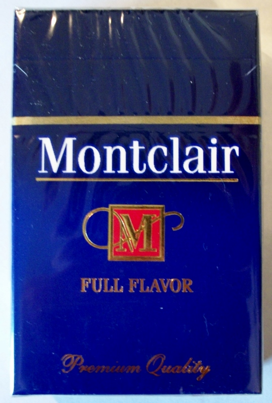 Montclair Full Flavor King Size Box - vintage American Cigarette Pack