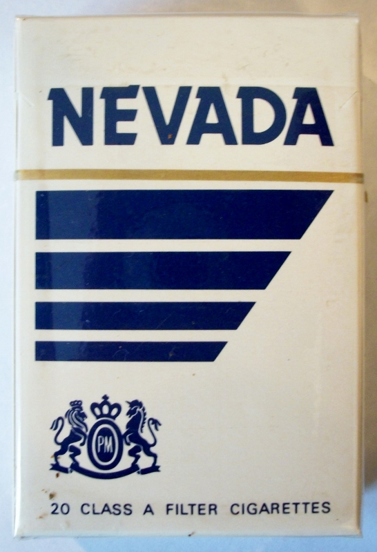 Nevada Filter, King Size - vintage American Cigarette Pack