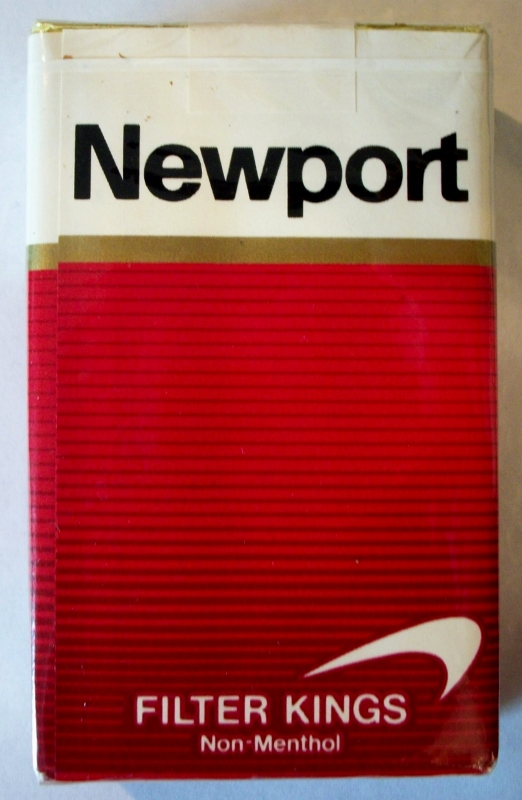 Newport Filter Kings Non-Menthol - vintage American Cigarette Pack