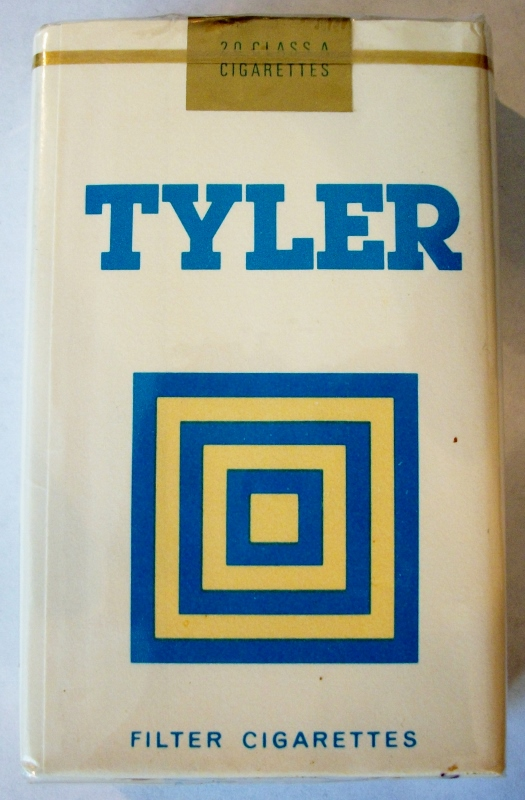 Tyler, Filter King Size - vintage Trademark Cigarette Pack