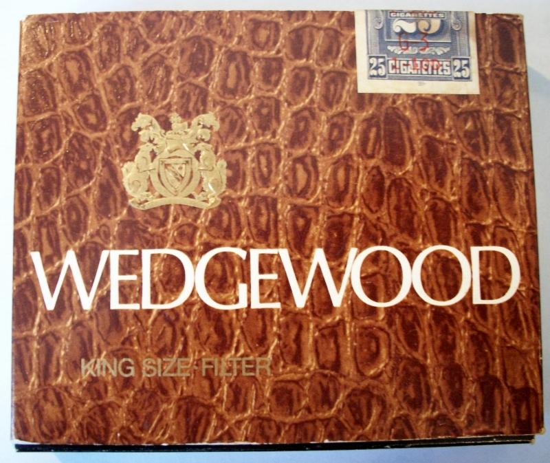 Wedgewood, King Size Filter - vintage Canadian 25-Cigarette Pack