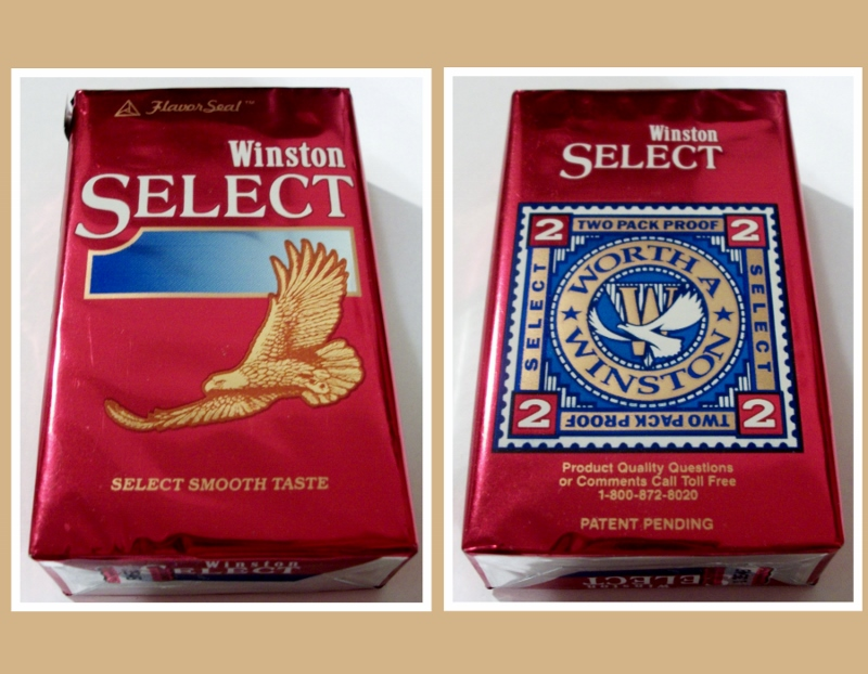 Winston Select, King Size FlavorSeal,