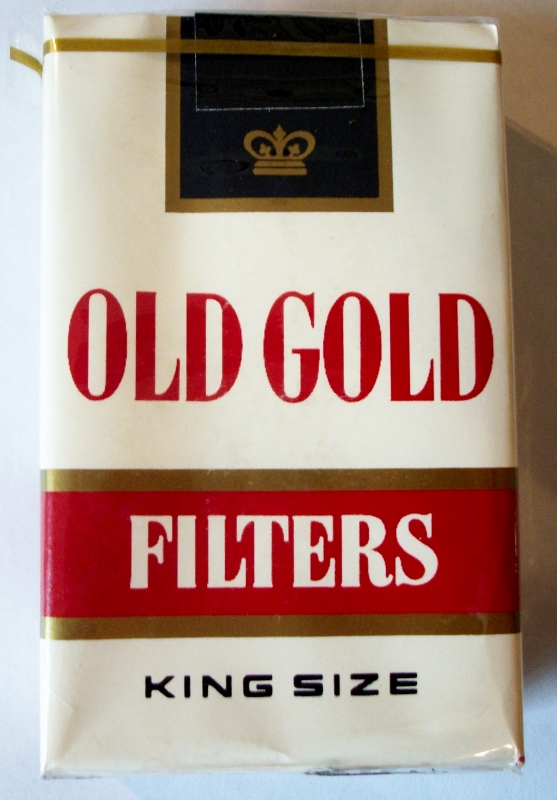 Old Gold Filters, King Size - vintage American Cigarette Pack