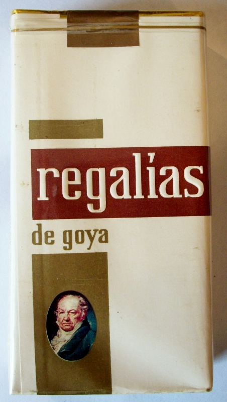 Regalias de Goya 100's Filter - vintage Canary Islands Cigarette Pack