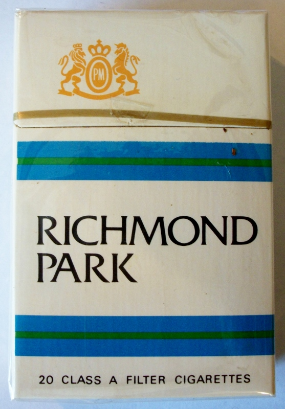 Richmond Park, Filter King Size - vintage American Cigarette Pack