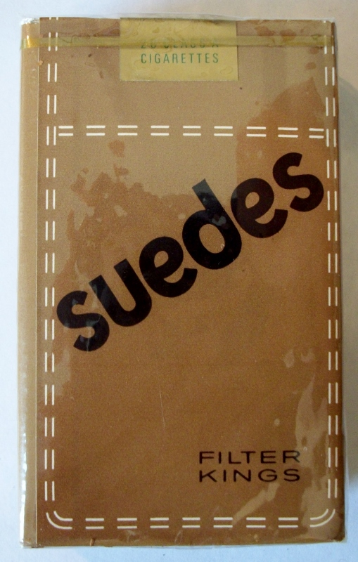 Suedes Filter Kings - vintage American Cigarette Pack