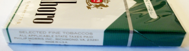 Marlboro Menthol Lights 85mm complimentary pack w/ coupon ...