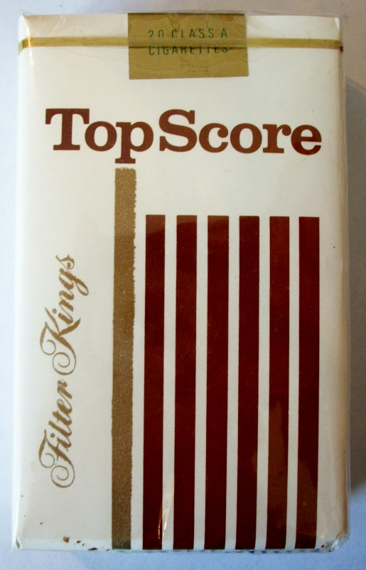 TopScore Filter Kings - vintage American Cigarette Pack