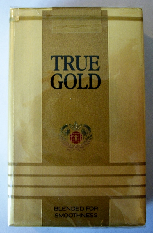 True Gold kings - vintage American Cigarette Pack