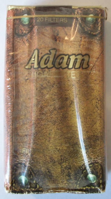 Adam Filter Extra Long - vintage American Cigarette Pack