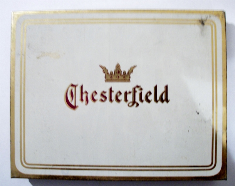 Chesterfield Cigarettes Liggett & Myers 50-pack