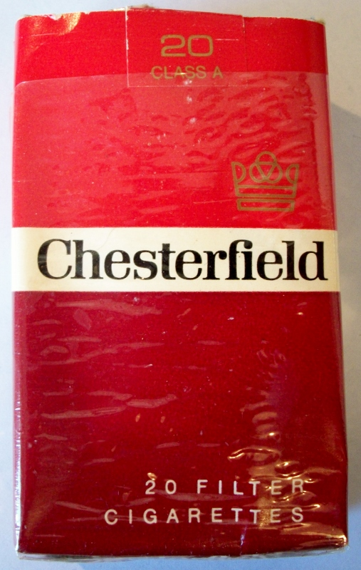 Chesterfield Filter king size - vintage American Cigarette Pack