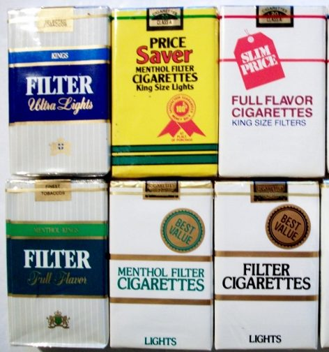 Make a Bundle - Generic Cigarette Packs