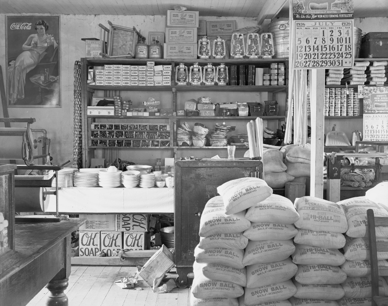 General store interior Alabama USA