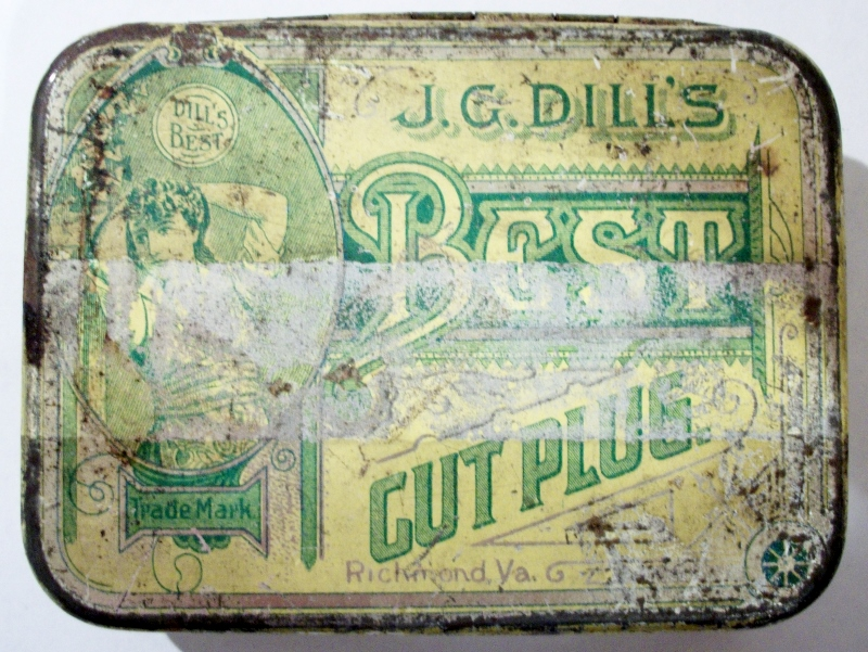 J. G. Dill's Best Cut Plug Cigarettes