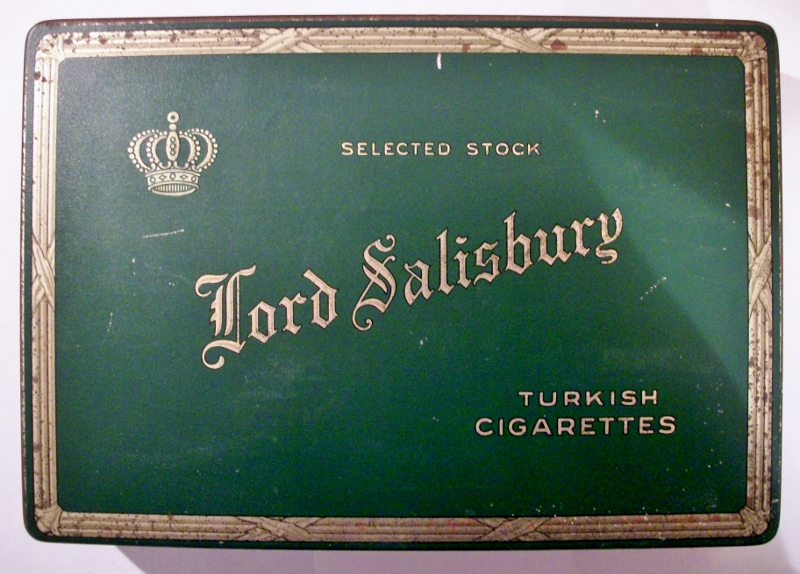 Lord Salisbury Selected Stock Turkish Cigarettes