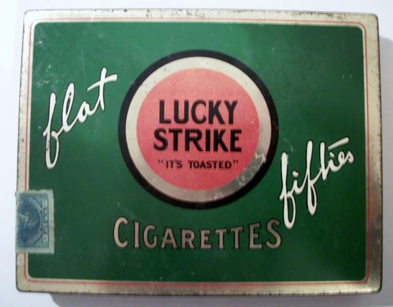 Lucky Strike Flat Fifties Cigarettes