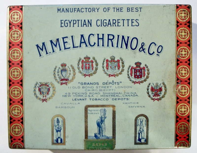M. Melachrino & Co. No. 4 Egyptian Cigarettes 100