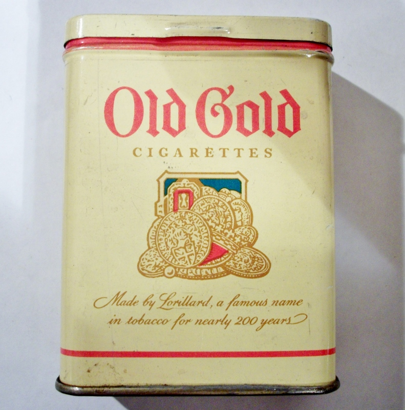 Old Gold Cigarettes by Lorillard