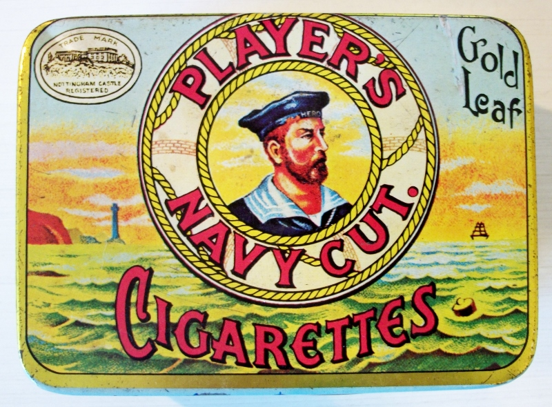 Player's Navy Cut Gold Leaf Cigarettes