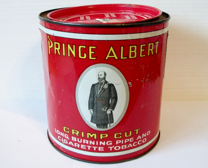Prince Albert Crimp Cut, Long Burning Pipe & Cigarette Tobacco
