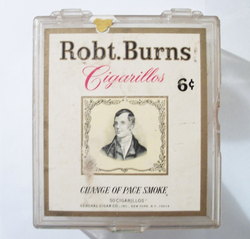 Robt. Burns Cigarillos - Change of Pace Smoke 50-pack