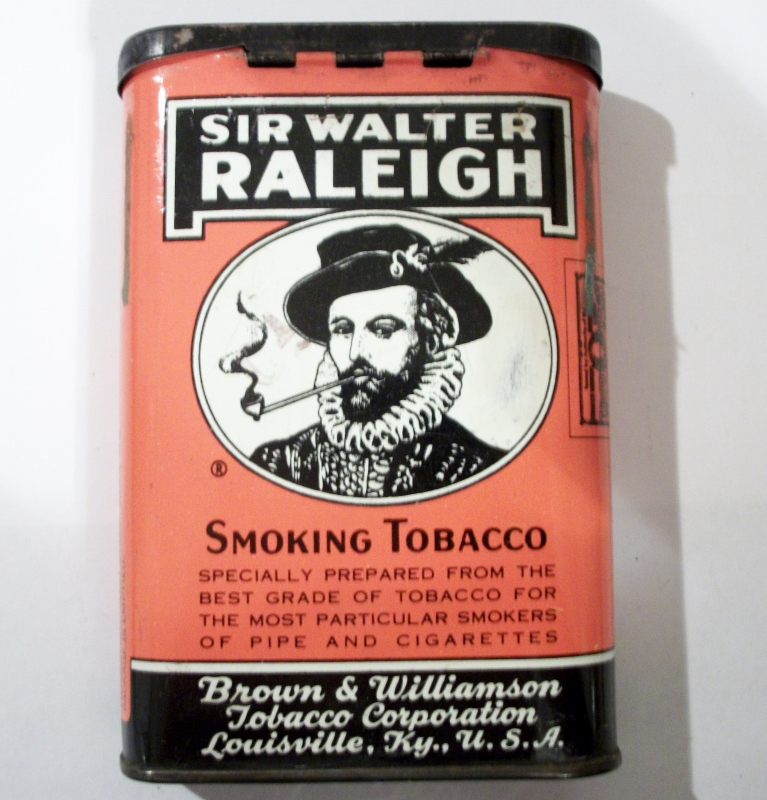 Sir Walter Raleigh Smoking Tobacco for Pipe and Cigarettes