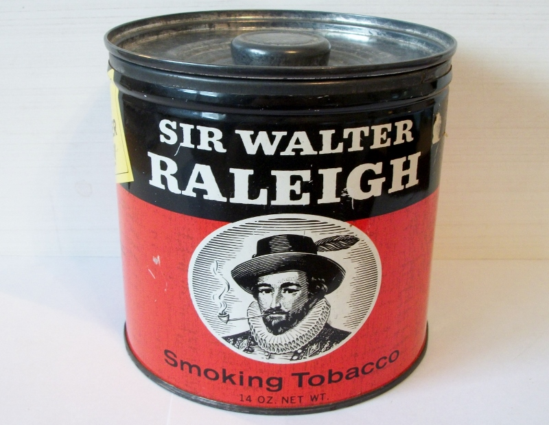 Sir Walter Raleigh Smoking Tobacco 14 oz. can