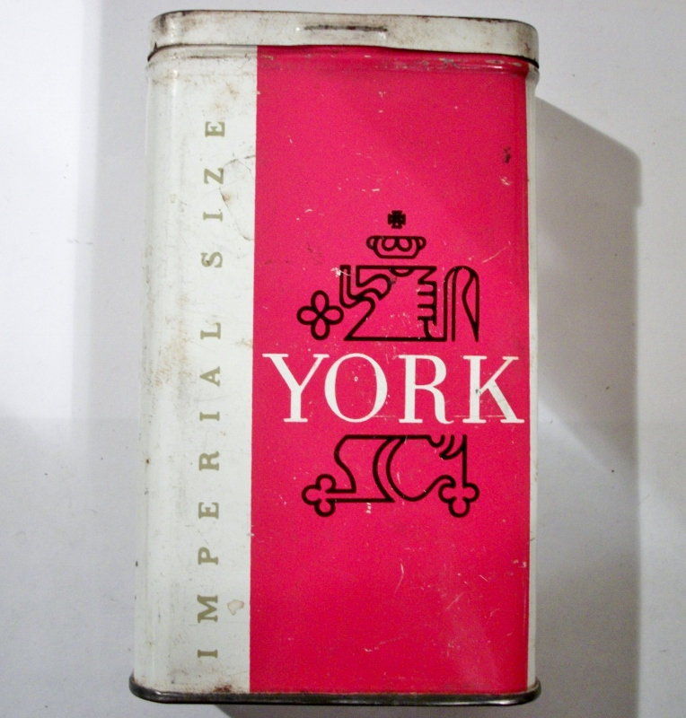 York Imperial Size Cigarettes by Lorillard