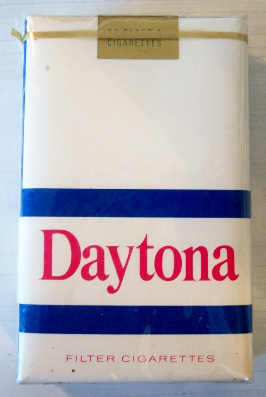 Daytona filter kings - vintage American Cigarette Pack