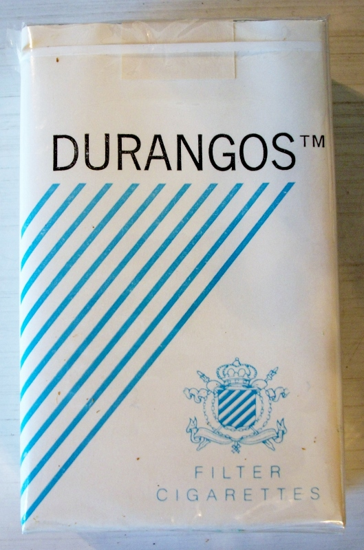 Durangos filter kings - vintage American Cigarette Pack