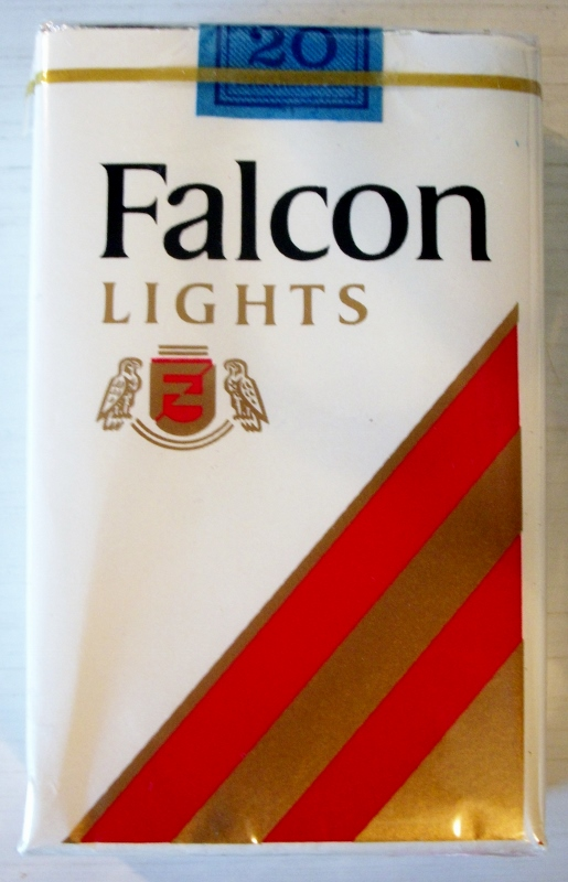 Falcon Lights, king size - vintage American Cigarette Pack