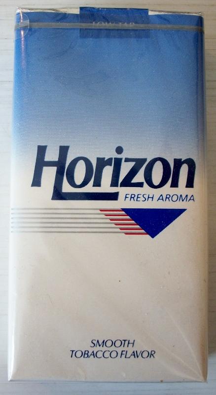 Horizon fresh aroma 1000s - vintage American Cigarette Pack
